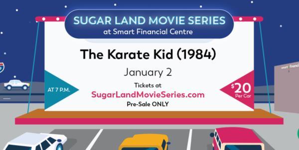 Sugar Land Movie Series - The Karate Kid