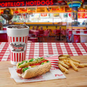 Portillo's Hot Dogs Chicago