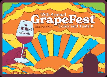 GrapeFest Poster
