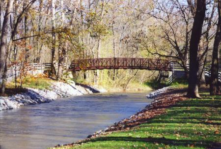 Walk and talk at Arbuckle Acres Park in Brownsburg during the month of May.