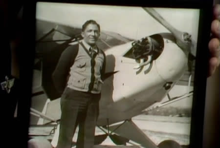 Pilot George Allen, who gave flight lessons to Fred Rogers