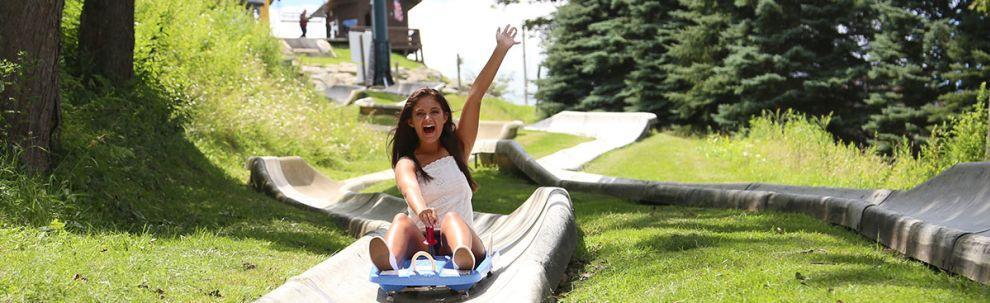 Seven Springs Mountain Resort Alpine Slide