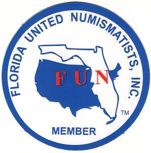 Florida United Numismatists logo