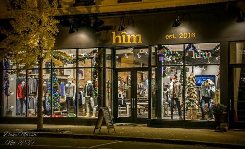 Exterior of HIM Boutique in Southern Indiana