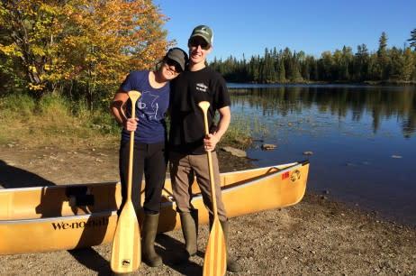 Stephanie and Forrest's BWCA Honeymoon