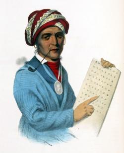 Cherokee Scholar Sequoyah