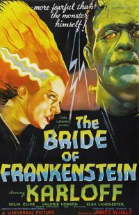 bride of frankenstein PAC movie poster