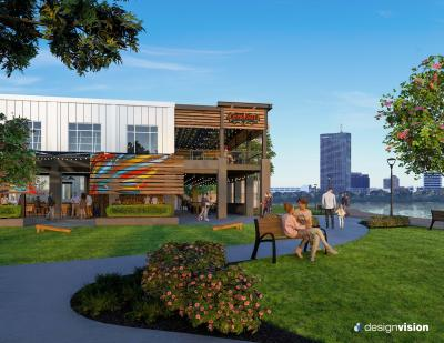 Crying Eagle Lakefront Rendering