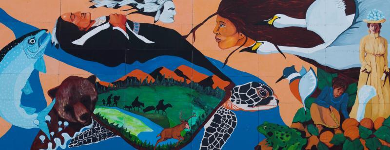 Wyandot Mural