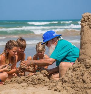 family building a-sandcastle