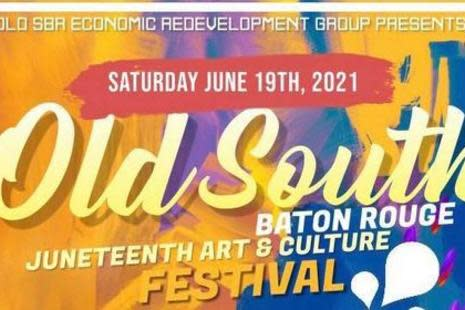 Old South Baton Rouge Juneteenth Event