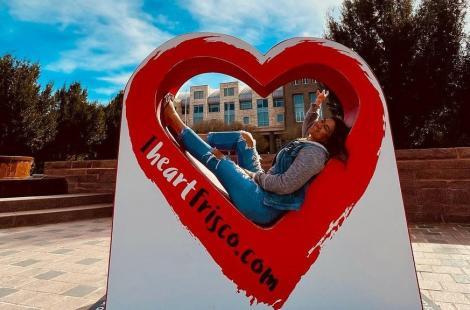 iHeartFrisco heart @kamaile.heide