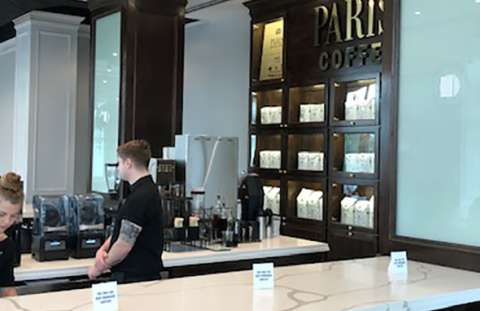 Downtown Overland Park Parisi Coffee