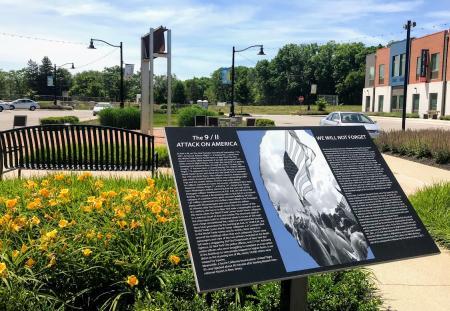 9/11 Memorial in Brownsburg