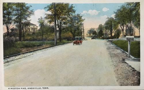 Kingston Pike Postcard