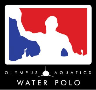Olympus Aquatics Water Polo logo