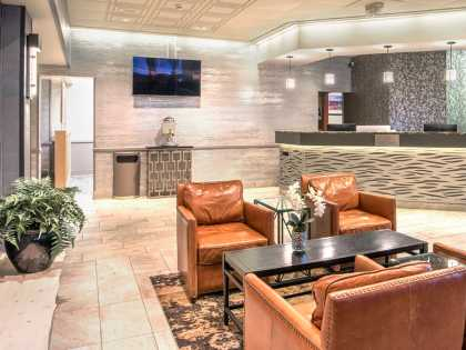 Westmark Anchorage Hotel welcoming lobby