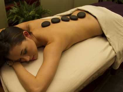 Alyeska Resort spa treatment hot stone massage