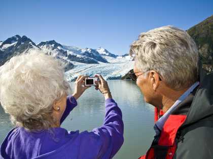 Glacier cruise to Portage Glacier photograph