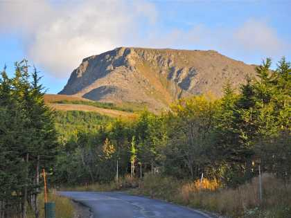 Flattop hiking trails in the Chugach mountains