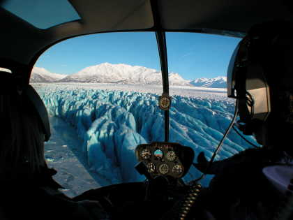 Glacier flightseeing from Girdwood
