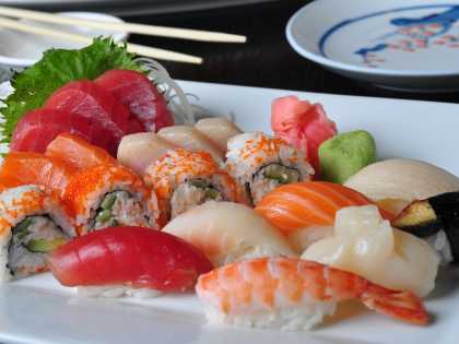 Sushi at Anchorage restaurant