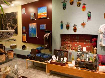 Anchorage shopping Octopus Ink gallery downtown