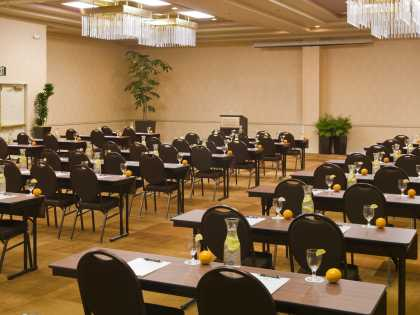 The Lakefront Anchorage meeting room for conferences