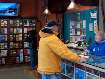 Anchorage visitor center for travel information