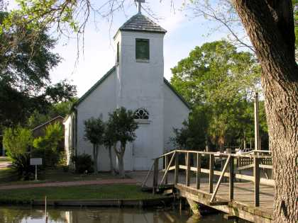 LARC's Acadian Village - Exterior Chapel
