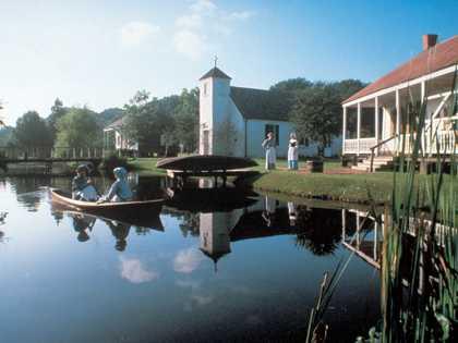 History of Acadiana - LARC's Acadian Village