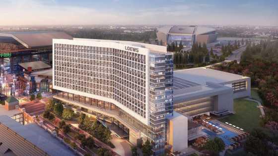 Lowes Hotel & Arlington Convention Center