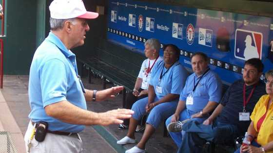 Ballpark guided tour