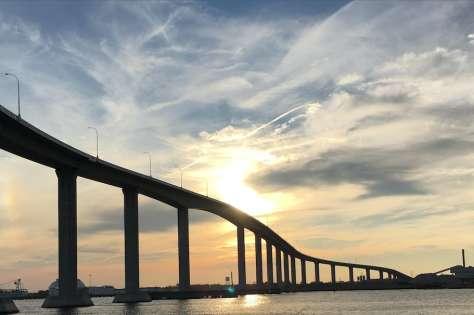 Jordan Bridge over the Elizabeth River in Chesapeake