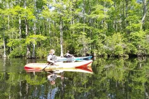 Kayaking Northwest River