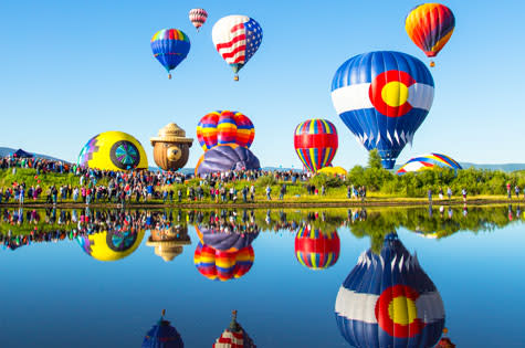Steamboat Springs Hot Air Balloon Rodeo