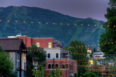 Yampa Street in downtown Steamboat Springs