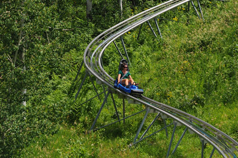 Outlaw Coaster at the Land Up