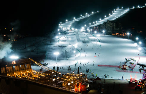 Steamboat Night Skiing