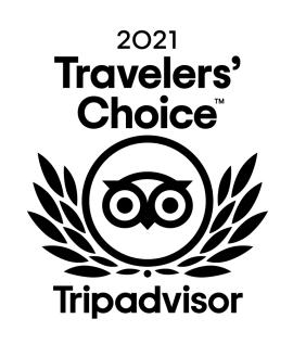 2021 Tripadvisor Travelers' Choice logo