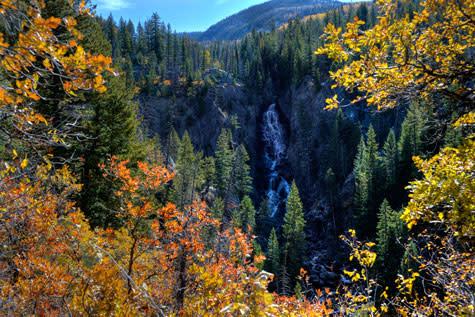 Fish Creek Falls Fall