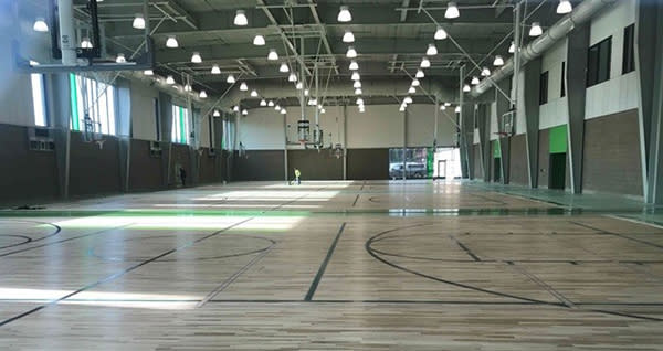 Civic Park Fieldhouse Interior