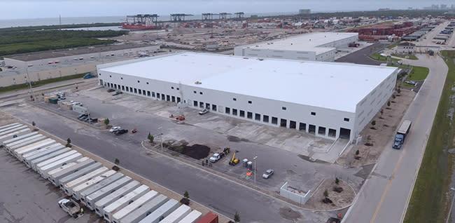 The International Logistics Center at Port Everglades.