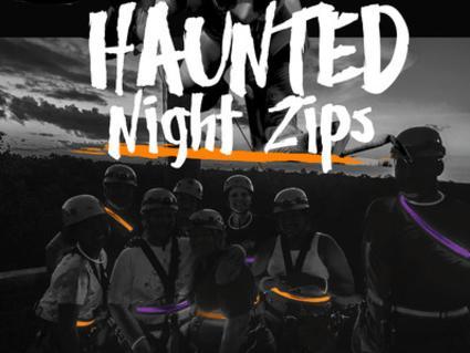 Haunted Night Zips