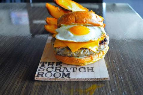 Brunch at The Scratch Room