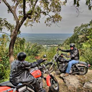 Motorcyles on the Bluff