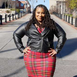 Aisha Adams, an influencer and leader in Asheville, NC