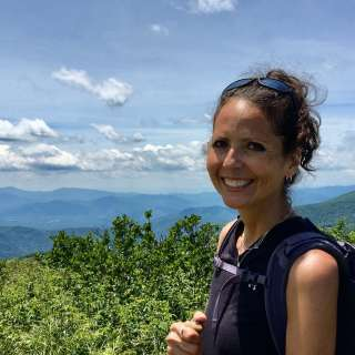 Writer Karen Chavez is an outdoor enthusiast in Asheville, NC