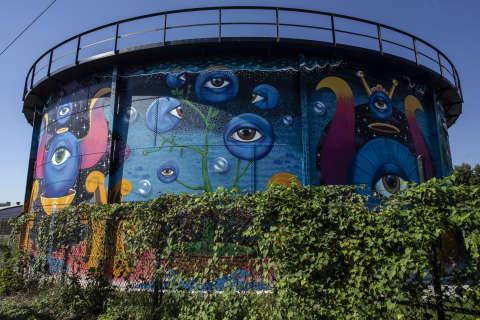 ϾWater Tank in NoCo Arts & Cultural District}}
