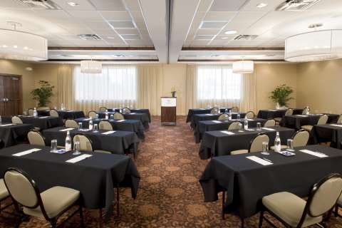 Ͼmeeting room at the Sheraton Hotel}}